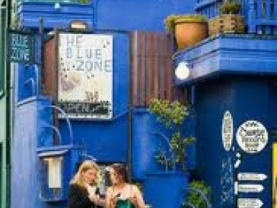 The Blue Zone Jazz & Pizza Wine Bar