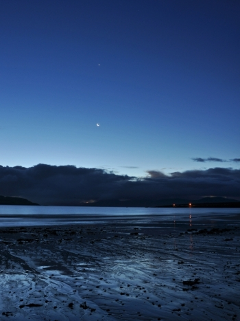 Twilight at Ventry Strand