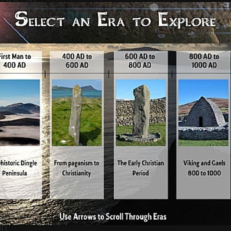The Dingle Peninsula - Interactive History Timeline