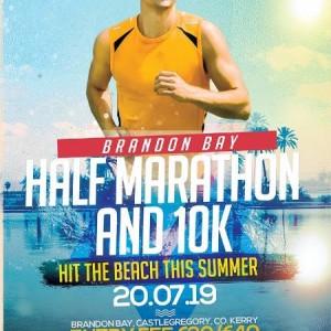 Brandon Bay Half Marathon & 10k: July/Meitheamh