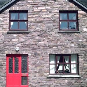 Front entrance of Castlegregory self catering rental